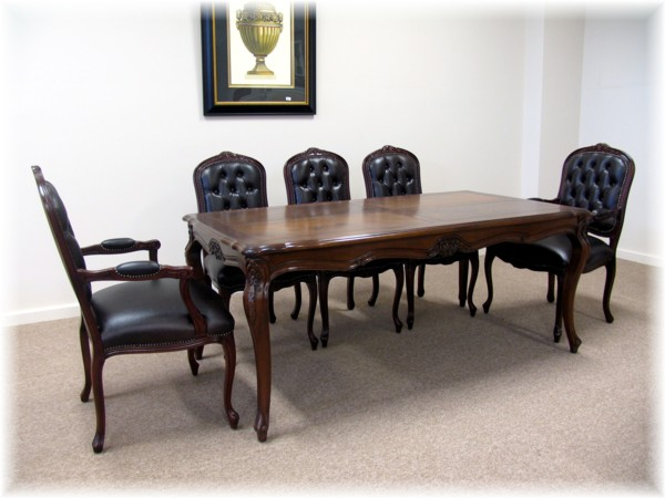 Art 1540 LXV Dining Table Parquet Top