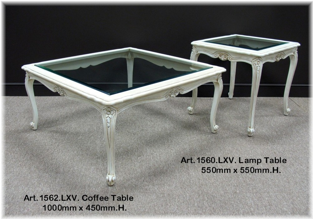 Art LXV Coffee & Lamp Tables